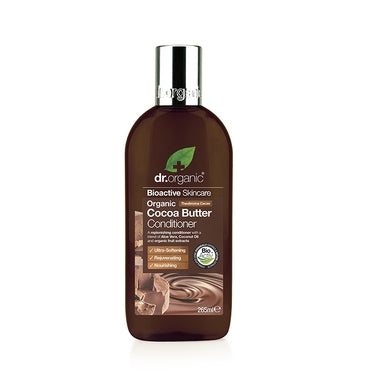 Dr Organic Cocoa Butter Conditioner 265ml - Natural Ethos