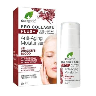 Dr Organic Pro Collagen Plus Dragons Blood 50ml - Natural Ethos