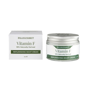 Holland & Barrett Vitamin F Replenishing Night Cream 50ml - Natural Ethos