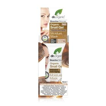 Dr Organic Snail Gel Intensive Anti-Aging Moisture Mask 10ml - Natural Ethos