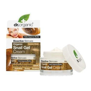 Dr Organic Snail Gel Cream 50ml - Natural Ethos