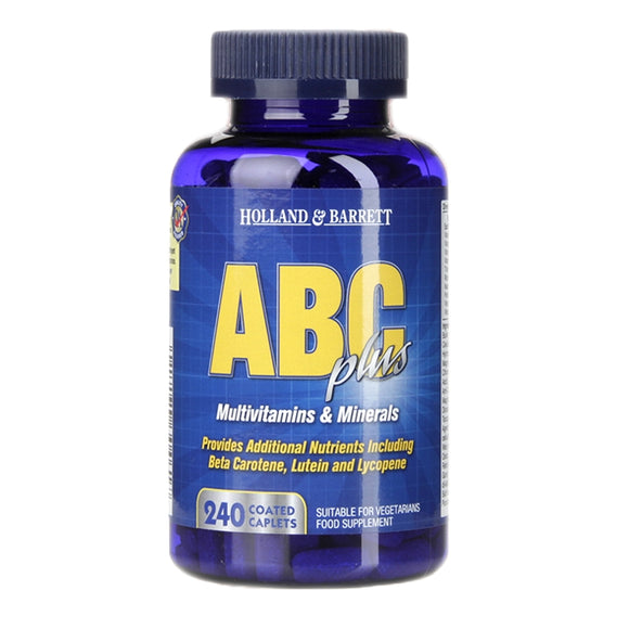 Holland & Barrett ABC Plus 240 Tablets - Natural Ethos