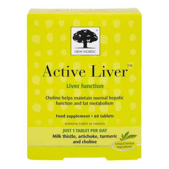 New Nordic Active Liver 30 tablets - Natural Ethos