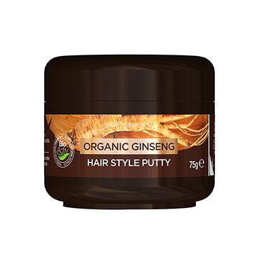 Dr Organic Ginseng Hair Style Putty 75ml - Natural Ethos