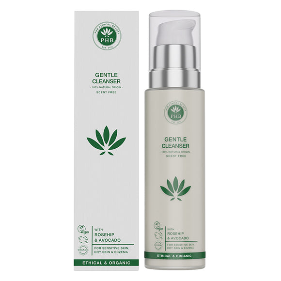 PHB Gentle Cleanser 100ml - Natural Ethos