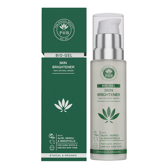 PHB Skin Brightener Bio-Gel 50ml - Natural Ethos