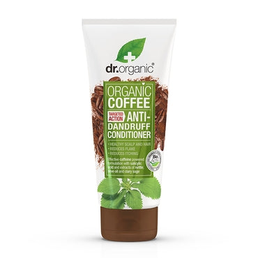 Dr Organic Coffee Anti-Dandruff Conditioner 200ml - Natural Ethos
