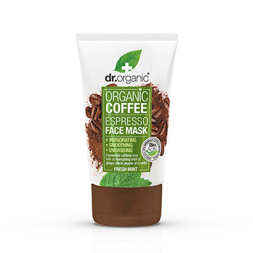 Dr Organic Coffee Mint Face Mask 125ml - Natural Ethos