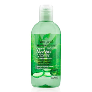 Dr Organic Aloe Vera Micellar Water 200ml - Natural Ethos