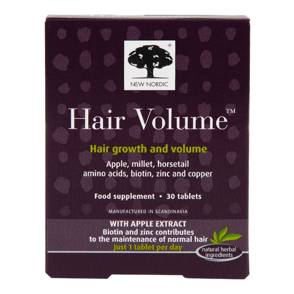 New Nordic Hair Volume 30 tablets - Natural Ethos