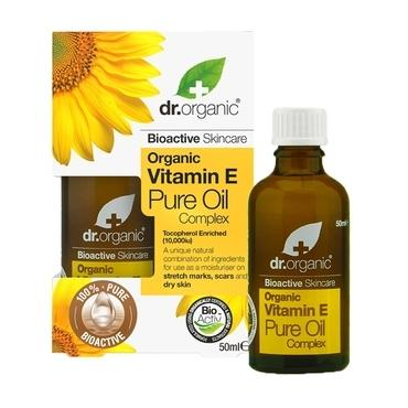 Dr Organic Vitamin E Pure Oil Complex 50ml - Natural Ethos