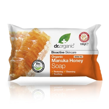 Dr Organic Manuka Honey Soap 100g - Natural Ethos