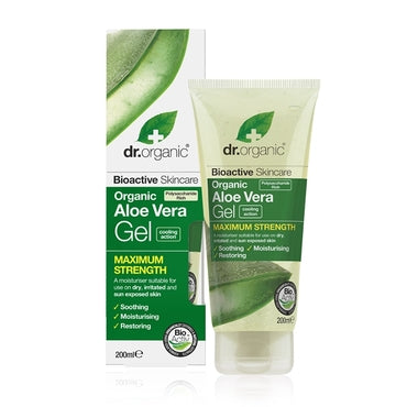 Dr Organic Aloe Vera Gel 200ml - Natural Ethos