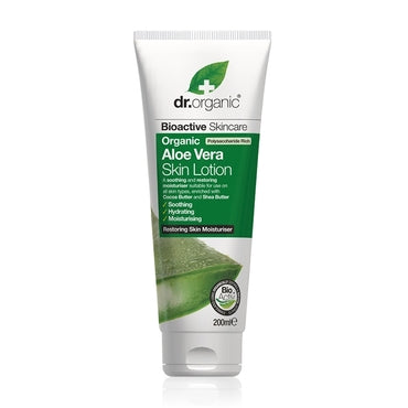 Dr Organic Aloe Vera Skin Lotion 200ml - Natural Ethos