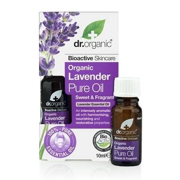 Dr Organic Lavender Pure Oil 10ml - Natural Ethos