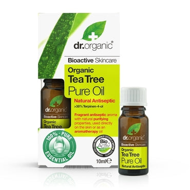 Dr Organic Tea Tree Pure Oil 10ml - Natural Ethos