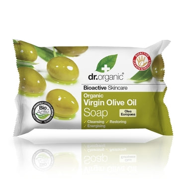Dr Organic Virgin Olive Oil Soap 100g - Natural Ethos
