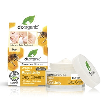 Dr Organic Royal Jelly Day Cream 50ml - Natural Ethos