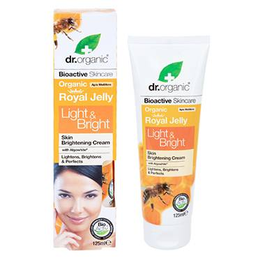 Dr Organic Royal Jelly Light & Bright Cream 125ml - Natural Ethos