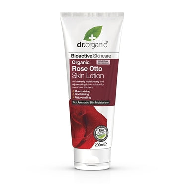 Dr Organic Rose Otto Skin Lotion 200ml - Natural Ethos