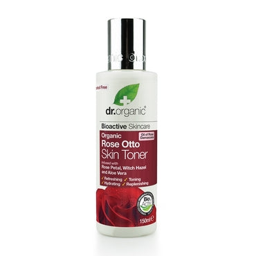 Dr Organic Rose Otto Skin Toner 150ml - Natural Ethos