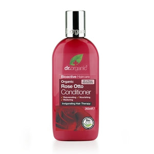 Dr Organic Rose Otto Conditioner 265ml - Natural Ethos