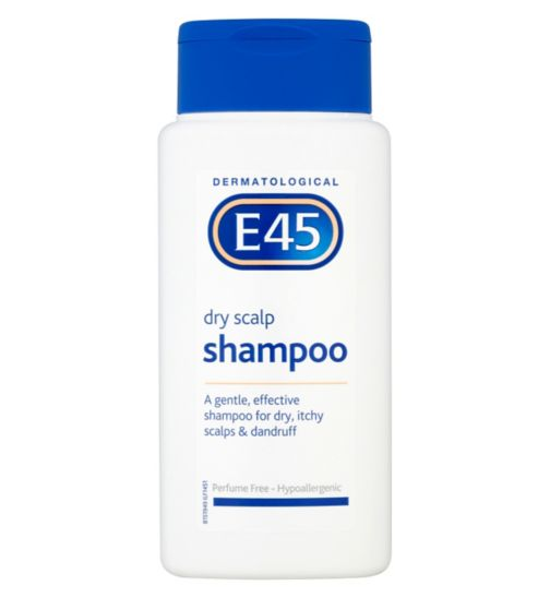 E45 Dermatological Dry Scalp Shampoo 200ml - Natural Ethos