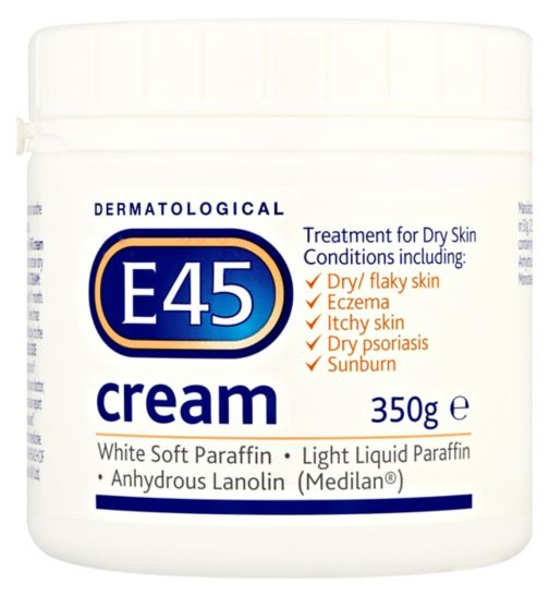 E45 Cream for Dry Skin & Eczema - 350g - Natural Ethos