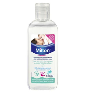 Milton Antibacterial Hand Gel 100ml - Natural Ethos