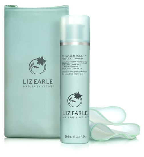 Liz Earle Cleanse & Polish Hot Cloth Cleanser 100ml Starter Kit - Natural Ethos