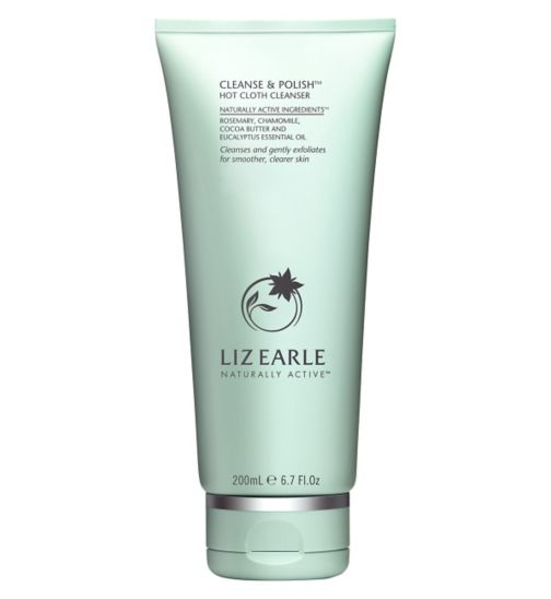 Liz Earle Cleanse & Polish Hot Cloth Cleanser 200ml - Natural Ethos