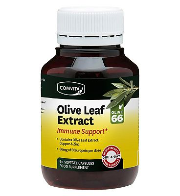 Comvita Immune Support Olive Leaf Extract 60 Capsules - Natural Ethos