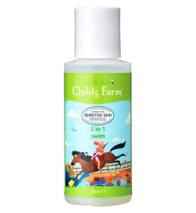 Childs Farm 3 In 1 Swim Strawberry & Organic Mint 50ml - Natural Ethos