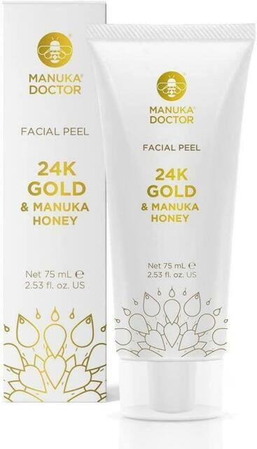 Manuka Doctor 24K Gold & Manuka Honey Facial Peel 75ml