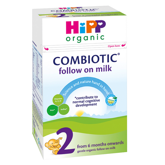 Hipp Organic Follow-On Milk 800G - Natural Ethos