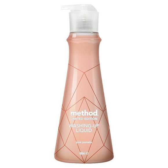 Method Rose Gold Pink Pomelo Washing Up Liquid 532ml - Natural Ethos