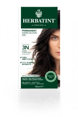 Herbatint 3N Dark Chestnut 150ml - Natural Ethos