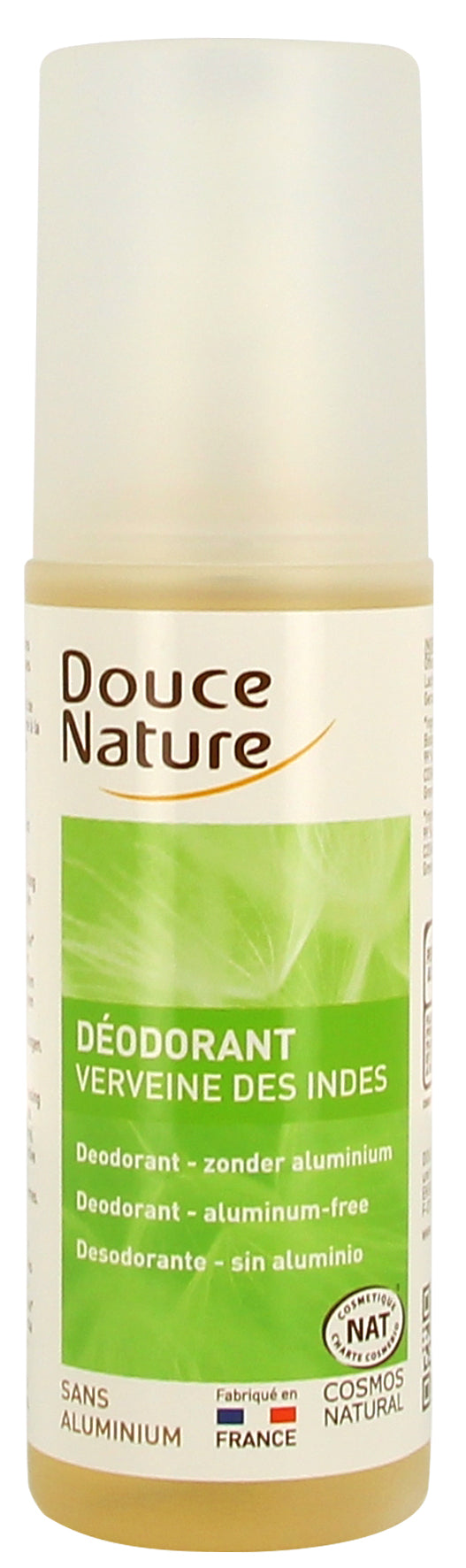 Douce Nature Natural Deodorant Lemongrass - Natural Ethos