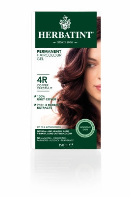 Herbatint 4R Copper Chestnut 150ml - Natural Ethos