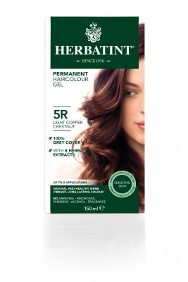 Herbatint 5R Light Copper Chestnut 150ml - Natural Ethos