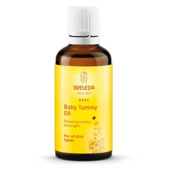 Weleda Baby Tummy Oil 50ml - Natural Ethos