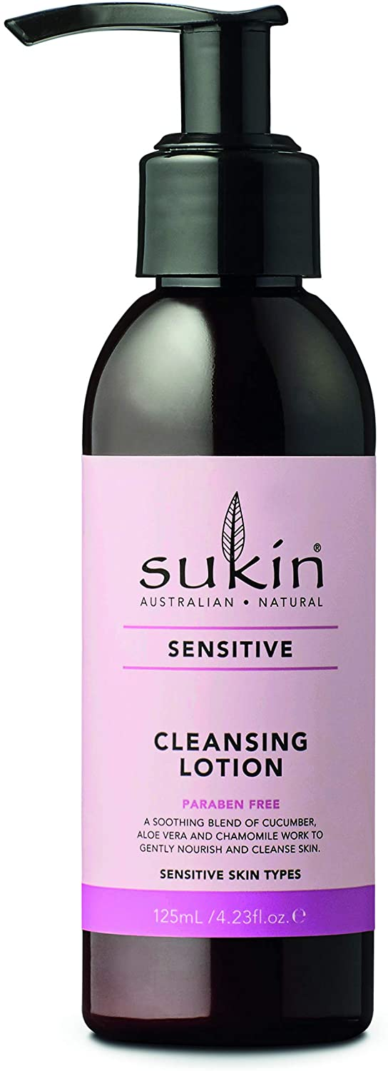 購買澳洲Sukin舒緩潔面乳125ml - Buy Sukin Sukin Sensitive Cleansing Lotion 125ml and other Sukin products with delivery