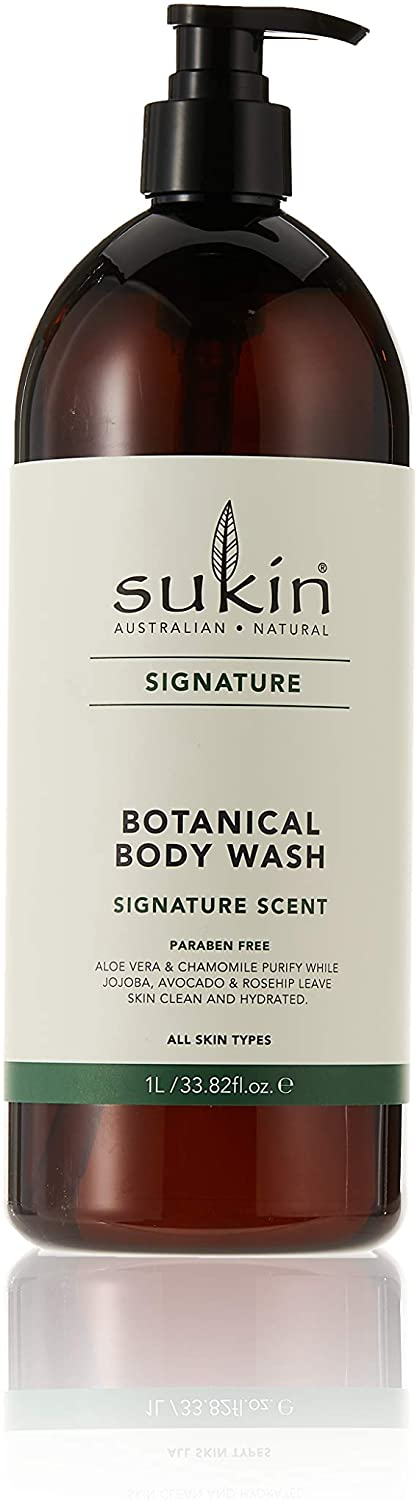 購買澳洲Sukin草本沐浴露1ltr - Buy Sukin Sukin Botanical Body Wash Pump 1ltr and other Sukin products with delivery