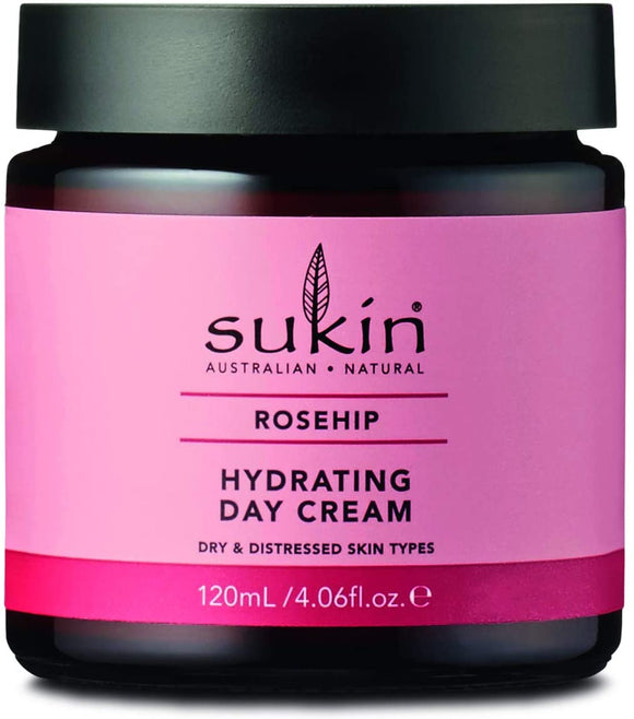 購買澳洲Sukin玫瑰果油日霜120ml - Buy Sukin Sukin Rosehip Oil Day Cream 120ml and other Sukin products with delivery