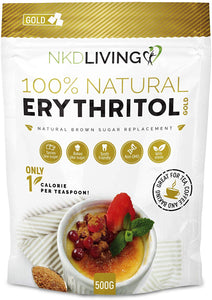 NKD Living Erythritol Gold - Natural Ethos