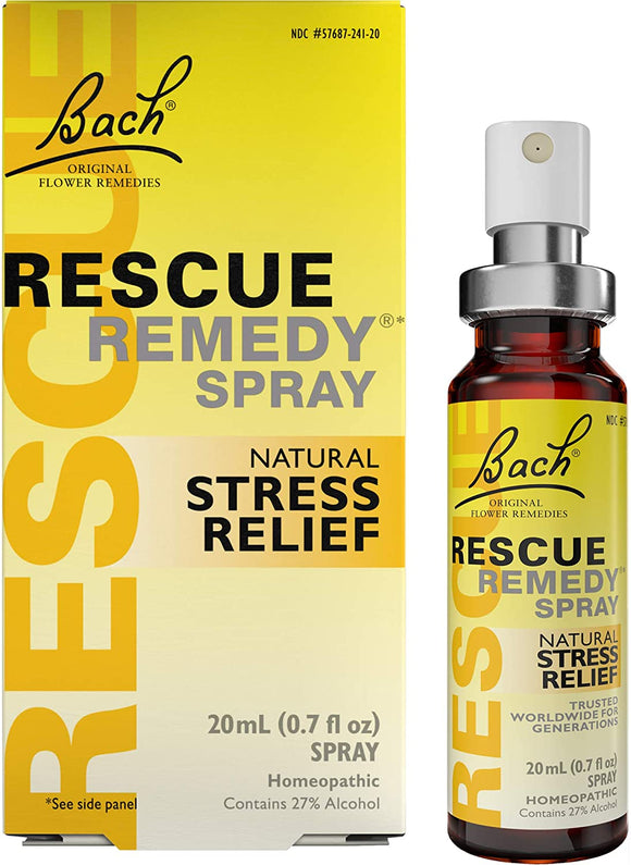 Bach Rescue Remedy Spray 20ml - Natural Ethos