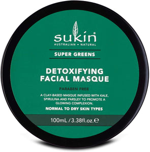 購買澳洲Sukin超級綠泥面膜100ml - Buy Sukin Sukin Super Greens Clay Masque 100ml and other Sukin products with delivery