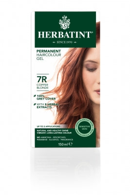 Herbatint 7R Copper Blonde 150ml - Natural Ethos