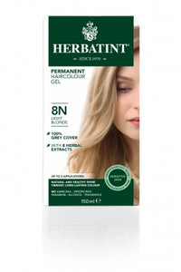 Herbatint 8N Light Blonde 150ml - Natural Ethos