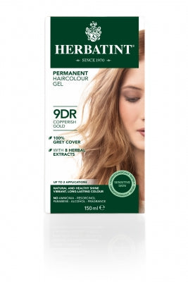 Herbatint 9DR Copperish Gold 150ml - Natural Ethos